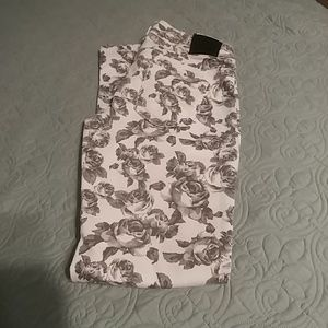 Maurices Floral Jeggings